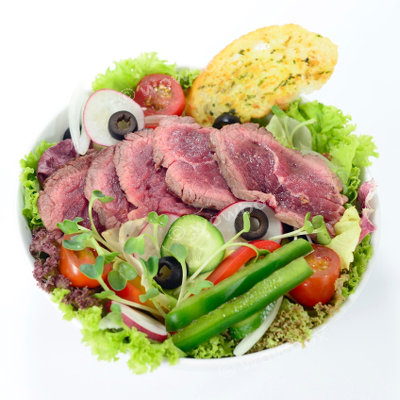 A1. Italian Salad - Peppered Beef