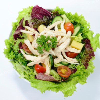 E1. Shredded Chicken Salad