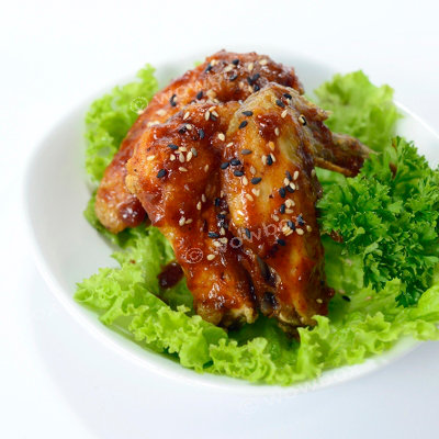 C1. BBQ Chicken Wings