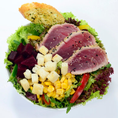 B1.Tuna on a Rocket - Sesame Tuna